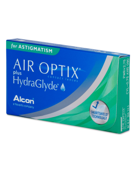 Air Optix plus HydraGlyde da 3 lenti