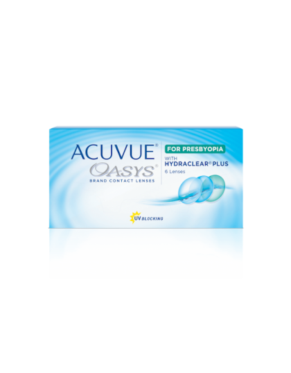 Oacuvue Oasys For Presbyopia
